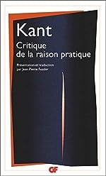 Critique de la raison pratique de Emmanuel Kant