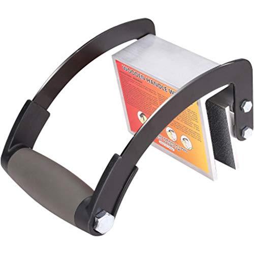 HCFKJ Hochfester Holzpaletten-Handhabungsschlüssel Arbeitssparender Handschlüssel Holzklemme (Schwarz)