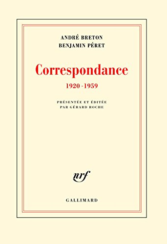 Correspondance: (1920-1959) par Benjamin Péret