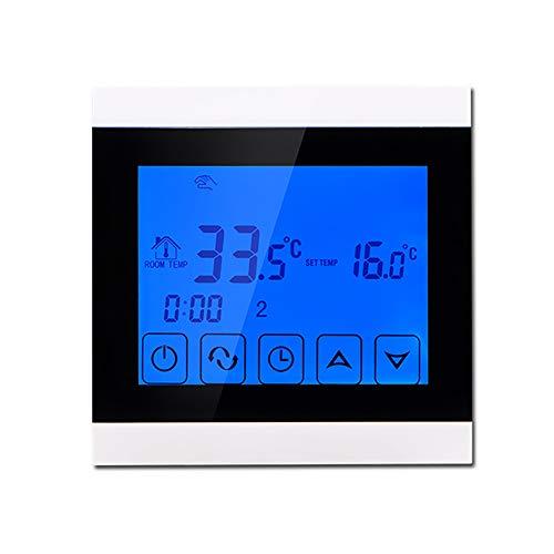 Zach-8 Smart-Thermostat, NTC Sensing Für Elektrische Fußbodenheizung 16A Temperaturregler Steuerbare Elektrischen Kugelventil/Elektrisches Ventil -Für Raum/Bodentemperatur