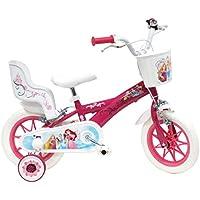 Bici da bambina Princess 2 freni con portabambola posteriore