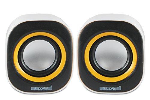 5 Core MMS-06 USB powered multimedia speaker for computers, mobile phones, la.