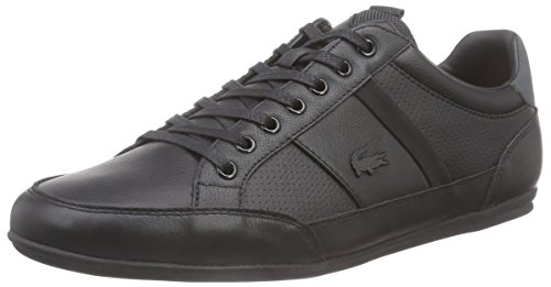 lacoste-chaymon-prm-us-herren-sneakers-schwarz-blk-dk-gry-237-43-eu-9-herren-uk