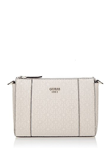 GUESS Kamryn Mini Convertible XBody Tote Stone (Guess Damen Mini)