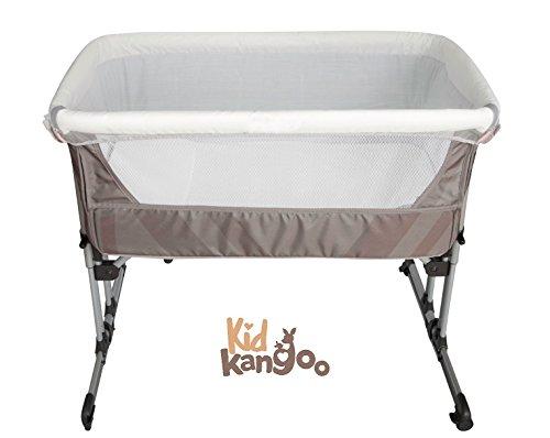 Cuna colecho para que la mamá y el bebé duerman juntos ❤ minicuna de colecho ajustable en altura y adaptable a todo tipo de camas con función balancín❤ cuna con apertura y cierre lateral con una sola mano ❤