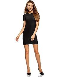 7f3a97d3e3e6 Amazon.it  vestito nero corto ragazza - Tubino e Peplum   Vestiti ...