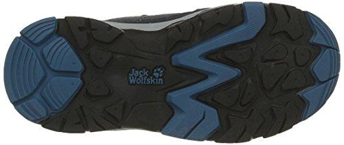 Jack Wolfskin Unisex-Kinder Mtn Attack 2 Texapore Mid Vc K Trekking-& Wanderhalbschuhe Blau (glacier Blue 1121)