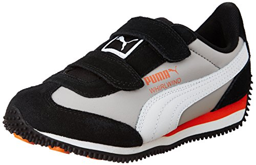 Puma Unisex Whirlwind L V Ps Idp Black Sneakers