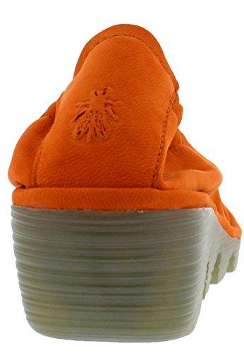 FLY London Damen Pled819fly Pumps Orange