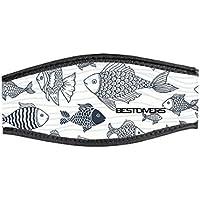 Peces Doble Velcro Best divers Correa M/áscara de Neopreno