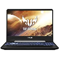 "ASUS TUF Gaming FX505DT 15.6"" FHD 120Hz Laptop GTX 1650 4GB Graphics (Ryzen 5-3550H/8GB RAM/1TB HDD + 256GB PCIe SSD/Windows 10/Stealth Black/2.20 Kg), FX505DT-AL202T"