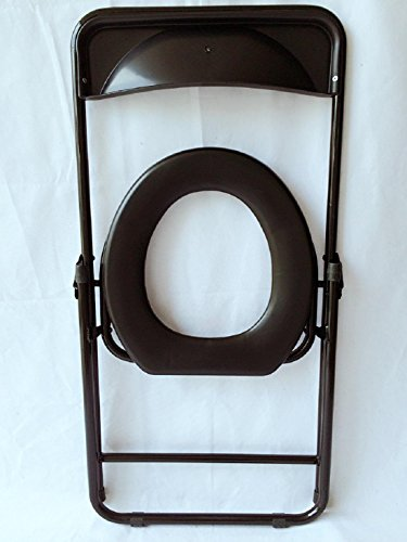 T-Sicherheitsgestelle für Toiletten Generisches Ältere schwangere Frau Große Rücken faltbare Hocker einfache bewegliche Toilettensitz Toilette Hocker WC (- Eine Einfach Frau-eisen)