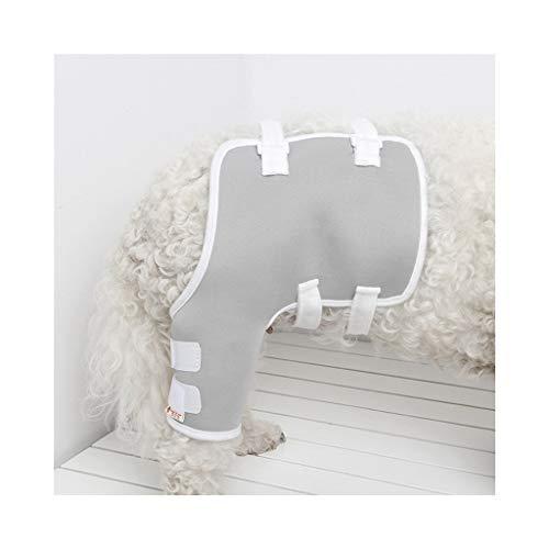 Z-PET Hundebeine Ellenbogen Unterstützung Hund Knieorthese Reha Knie Knöchel Schutzhülle Chirurgische Verletzungen Bandage Wrap (Color : Right-rear leg, Size : L)