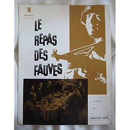 Dossier de presse de Le repas des fauves (1964) - 8 pages – Film de Christian Jaque avec Francis Anglade, Francis Blanche – Photos N&V, scénario – Bon état.