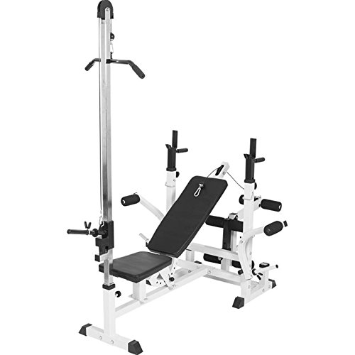 41jDAUFHkSL. SS500  - Gorilla Sports Lat Attachment for Universal Workstation