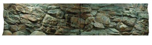3D Aquarienrückwand 200x50 Rock