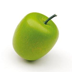 Erzi Juego de madera de Alimentos - Juego de imaginación Grocery Shop - Apple, verde (individual)