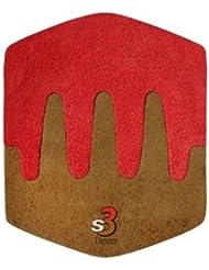 Dexter S3 Saw Tooth Heel - Accesorio de bolos, color marrón / marrón claro