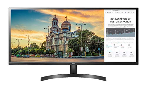 LG 34-inch UltraWide Monitor with AMD Freesync & IPS Display with sRGB 99% for Gaming & Design - 34WK500