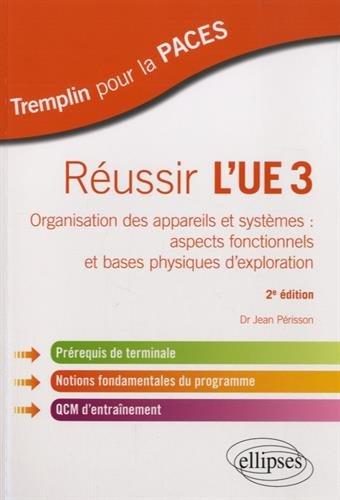 Russir l'UE3 Organisation des Appareils et Systmes Aspects Fonctionnels et Bases Physiques d'Exploration