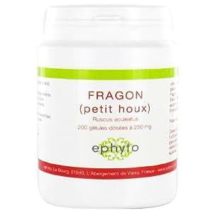 Ephyto - Fragon (petit houx) - 200 gélules - Pour des jambes légères