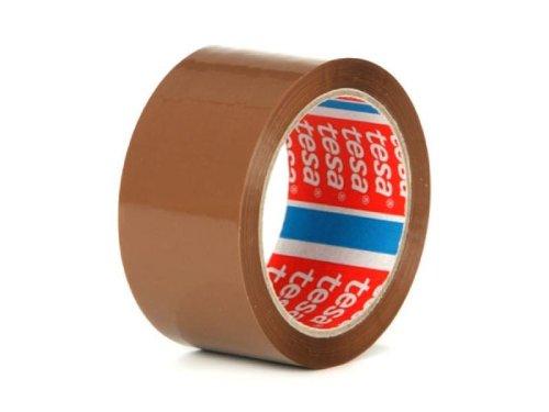 TESA 6 Rollen Paketklebeband, 66 m, 50 mm, braun, 64014