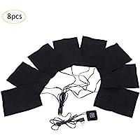 seasaleshop 8in 1 Elektrische Heizung Thermo Kleidung Pad Elektrisches Heizkissen,35-50 Grad 3 Gänge einstellbar... preisvergleich bei billige-tabletten.eu