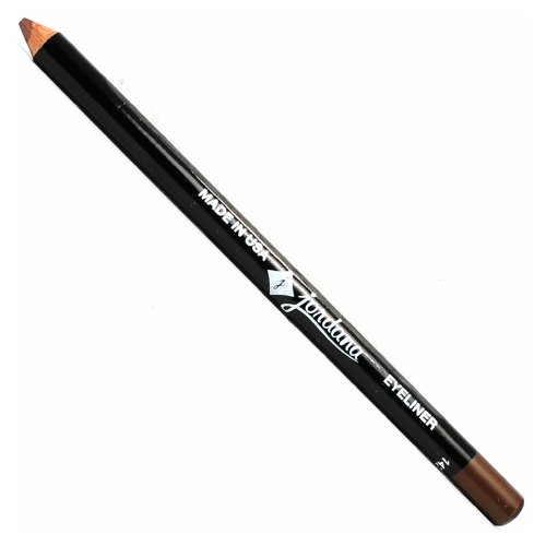 JORDANA 5 Inch Eyeliner Pencil - Rich Coffee