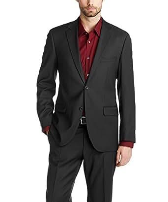 ESPRIT Collection Herren Anzugsjacke Regular Fit 993EO2G902, Schwarz (Black 001), 25