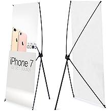 vaiigo ajustable telescópico X tipo Banner soporte de exhibición publicidad Póster marco soporte