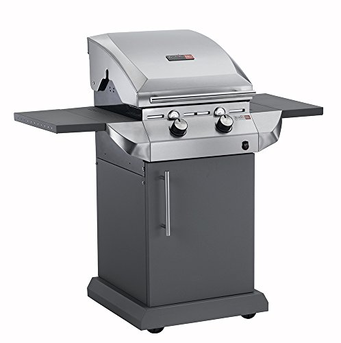 Char-Broil Performance SeriesTM T22G - 2 Burner Gas Barbecue Grill with TRU-InfraredTM technology, Stainless Steel Finish.