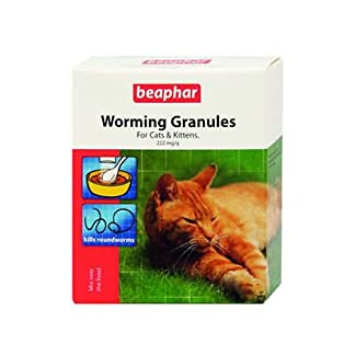 SIPW Beaphar Cat Worming Wormer Granules Powder Dewormer For Cats And Kittens (Worming Granules) 8