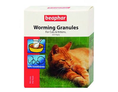 SIPW Beaphar Cat Worming Wormer Granules Powder Dewormer For Cats And Kittens (Worming Granules) 1