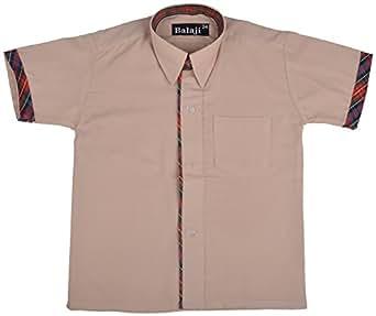 Balaji Uniforms CottonShirt for Boys DAV (Sizes Available : 24 to 32)