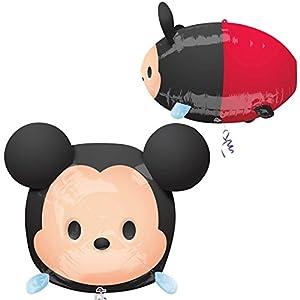 Amscan International 3411001 Disney Tsum Tsum Mickey Ultra Shape - Globo de Papel de Aluminio