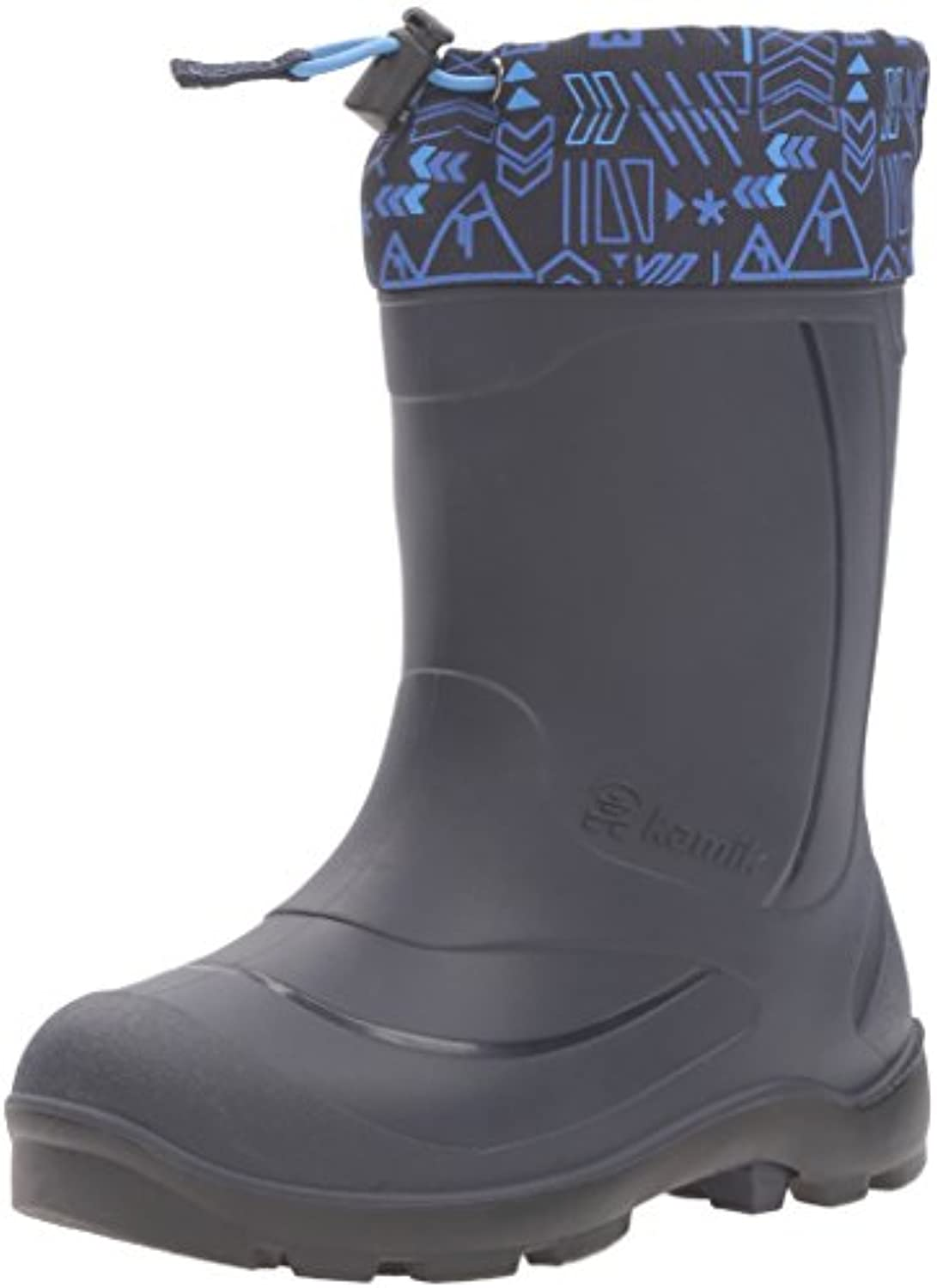 Kamik Snobuster2 Snow Boot  Charcoal/Lime  1 M US Little Kid