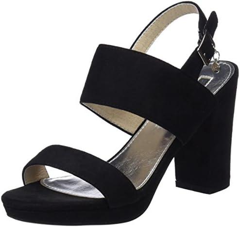 XTI 30753, Zapatos con Tacon y Correa de Tobillo para Mujer