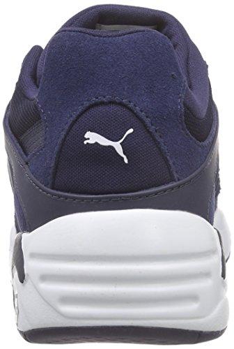Puma - Blaze Jr, Scarpe da ginnastica Unisex – Bambini Blu (Blau (peacoat 02))
