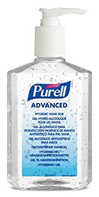 PURELL 9659-12-EEU00 Advanced Hygienic Hand Rub Pump Bottle, 350 mL