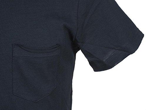 Blend Basic Small Pocket T-Shirt Dunkelblau Dunkelblau