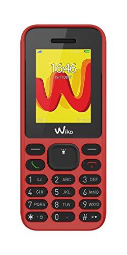 Wiko Lubi5 Téléphone portable débloqué 2G (Ecran: 1,8 pouces - 32Mo - Double SIM) Corail