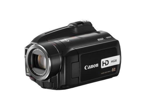 Canon AVCHD Camcorder HG20 (60GB, Dual Flash Memory, 6,9cm (2,7 Zoll) Display, 12-fach optischer Zoom) schwarz