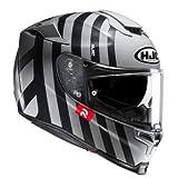 HJC Helm RPHA 70 FORVIC Integralhelm Motorradhelm mit Sonnenblende und Antifogscheibe (XXS (52/53))
