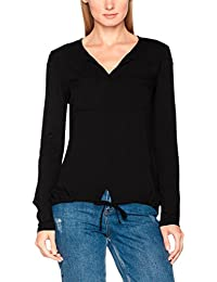 TOM TAILOR Damen T-Shirt Viscose Mix Blouse Shirt