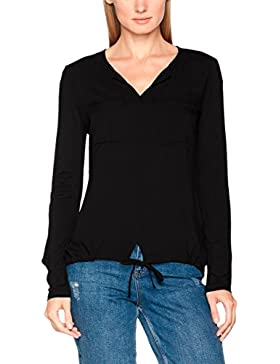 TOM TAILOR Damen T-Shirt Viscose Mix Blouse Shirt