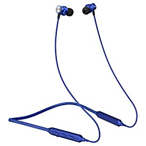 Boat Rockerz 239 Wireless Headset with ASAP Fast Charge, Immersive Audio, Bluetooth V5.0, Qualcomm Chipset, Dual Pairing, IPX5 Water Resistance, CVC Noise Isolation and Magnetic Earbuds(Blue)