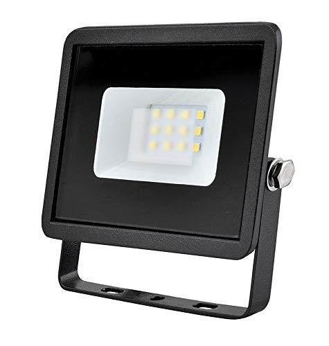 10w LED Flutlicht/Floodlight/Scheinwerfer 4000k - Schwarz (Eveready s13944) -