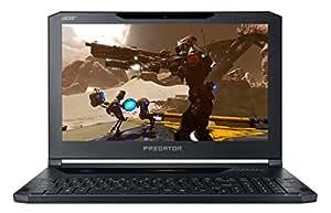 "Acer Predator Triton 700 PT715-51-75EG Notebook, Display FHD LED LCD 15.6"", Intel Core i7-7700HQ, RAM 16 GB DDR4, 256GB+256GB PCIe SSD RAID, Scheda Video NVIDIA GeForce GTX 1080 8 GB, Windows 10, Nero"