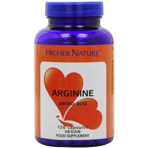 Higher Nature Arginine Capsules Pack of 120