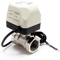 WilTec: electroválvula de zona de 2vías DN20 (20mm, 3/4pulgadas de diámetro),220V CA